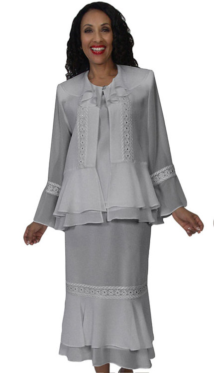 3Pc Fully Lined Georgette Suit
