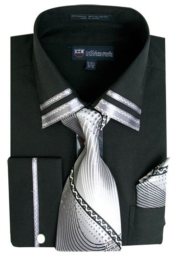 Matching Tie, Cuff Link And Hanky