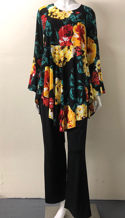 2pc Fully Lined Georgette