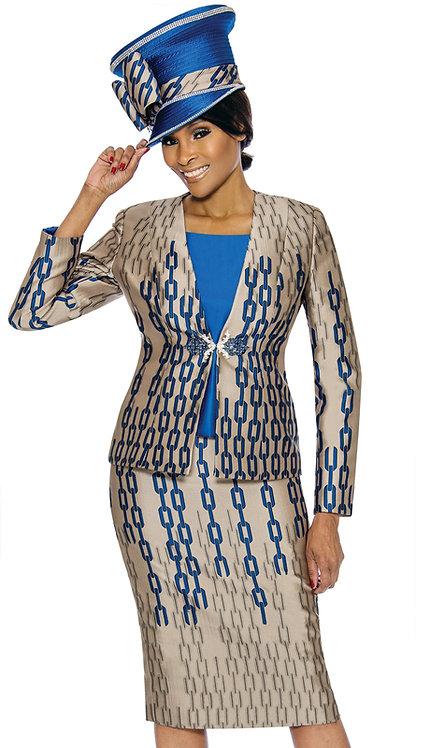 3pc Silk Womens Sunday Suit