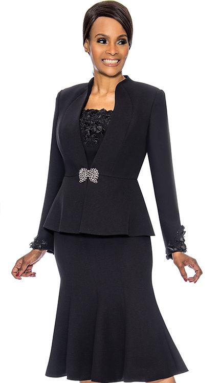 3pc PeackSkin Womens Church Suit