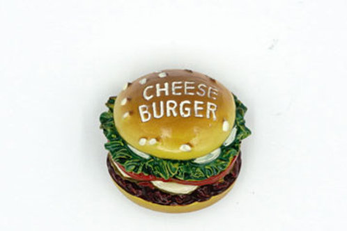 Cheese Burger Fridge Magnet