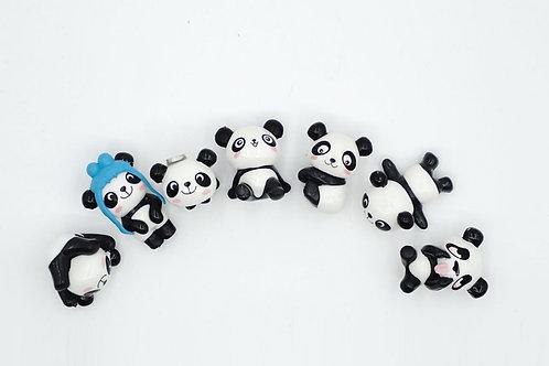 Baby Pandas Fridge Magnet (Set 3)
