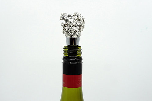 Silver Colour Lion Wine Stopper