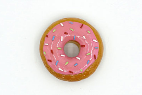 Strawberry Frosted Donut Fridge Magnet