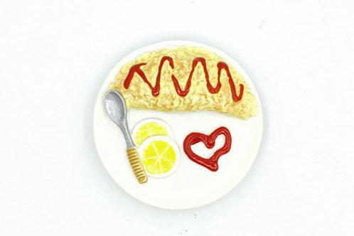 Omelette Fridge Magnet