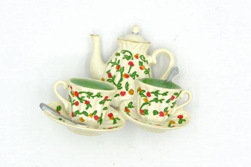 Green Tea Fridge Magnet