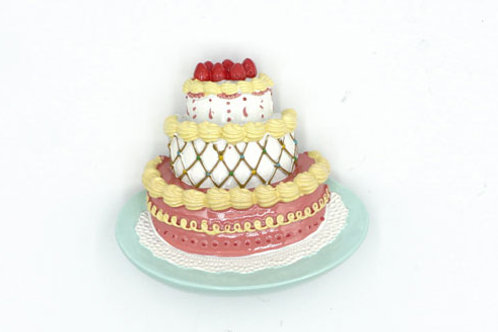 Celebration Cake Fridge Magnet