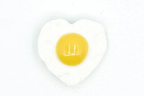 Heart Shape Egg Fridge Magnet