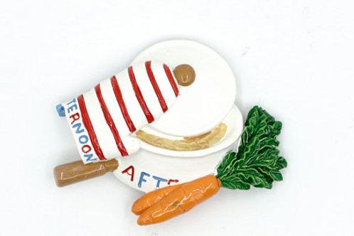 Carrot Stew Fridge Magnet