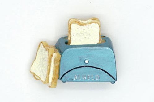 Toast & Toaster Fridge Magnet