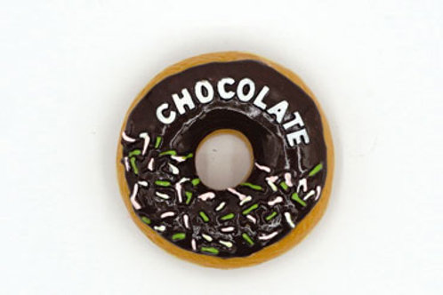 Chocolate Frosted Donut Fridge Magnet