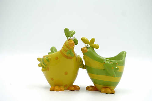 Funky Rooster Brothers Egg Cup