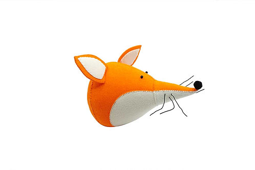 Red Fox Wall Decoration