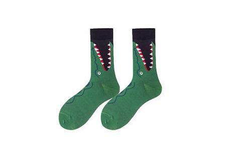 Crew Socks Crocodile