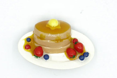 Custored Cake Pudding Fridge Magnet