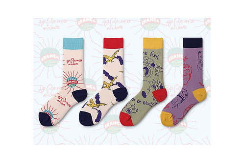 Mad Crew Socks Pack Women