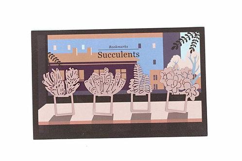 Succulent shape Bookmarks