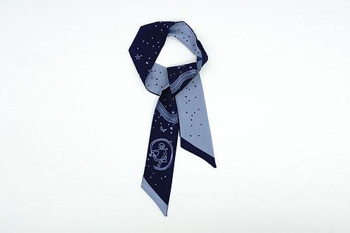 Starry Night Pattern Scarf