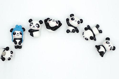 Baby Pandas Fridge Magnet (Set 2)