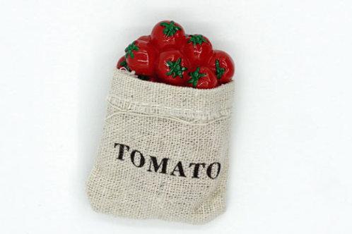 Bag of Tomatoes Fridge Magnet