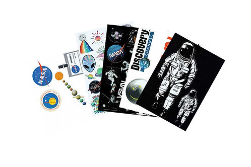 NASA and Space Theme Sticker