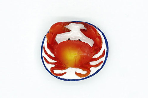 Fresh Crab Fridge Magnet