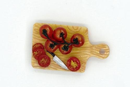 Fresh Tomatoes Fridge Magnet
