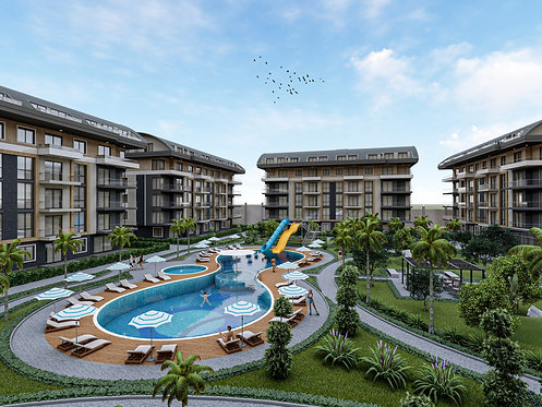 FROM A REPUTABLE DEVELOPER: BRAND NEW APARTMENTS IN A LUXURY RESIDENCE IN OBA