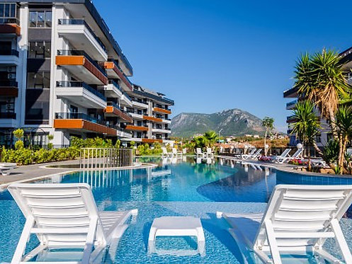 NEW LUXURY APARTMENTS IN OBA/ALANYA (1...4+1 FOR SALE)