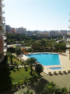 PANORAMIC VIEW TOP FLOOR 2-BEDROOM APARTMENT IN TOSMUR/ALANYA (2+1 FOR SALE)