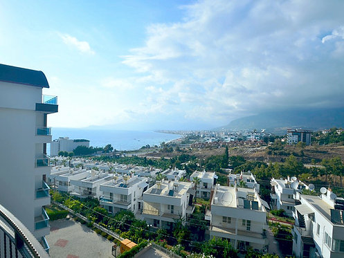 BRAND NEW LUXURY SEA VIEW APARTMENTS IN ALANYA (2+1, 3+1 FOR SALE)