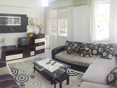 SPACIOUS 1-BEDROOM APARTMENT CLOSE TO CLEOPATRA BEACH/ ALANYA (1+1 FOR SALE)