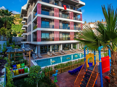 BRAND NEW 1-BEDROOM APARTMENT IN A LUXURY RESIDENCE CLOSE TO THE BEACH IN ALANYA