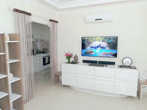 LIGHT AND COZY SCANDINAVIAN STYLE APARTMENT IN OBA/ALANYA (2+1 FOR SALE)