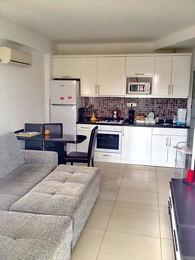 COZY 2-ROOM APARTMENT 150 METERS AWAY FROM THE BEACH (1+1 FOR SALE)