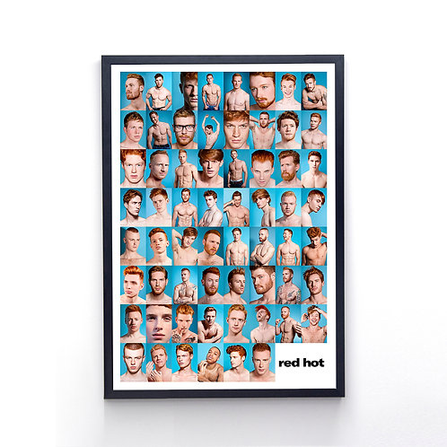 RED HOT 100 POSTER