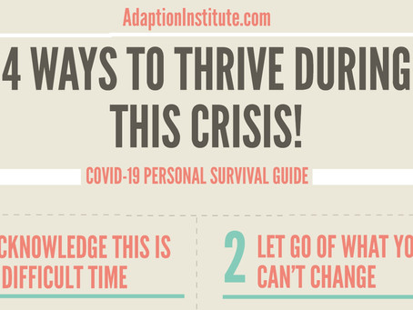 4 Ways to Thrive During This Crisis!