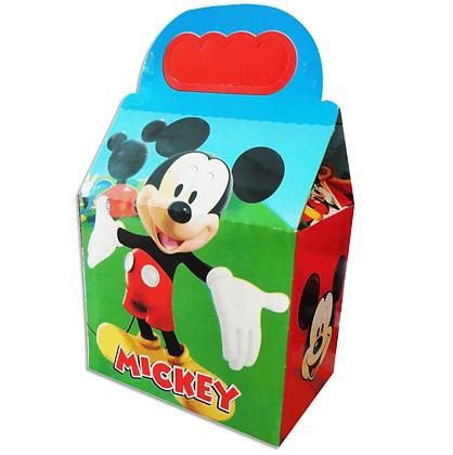 Caja mickey mousse c/10 pzas