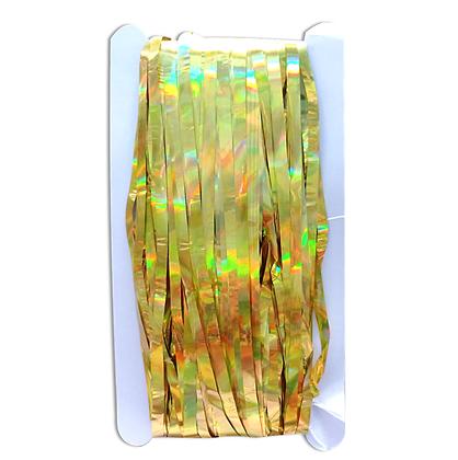 Cortina Metalica oro