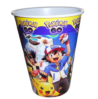 Vaso pokemon c/10 pzas