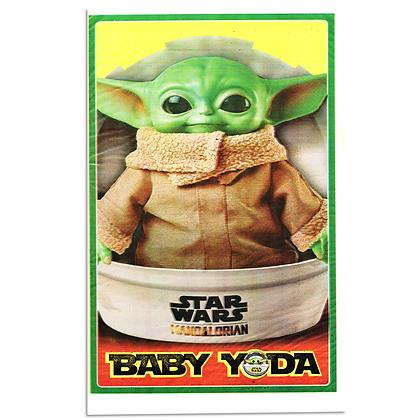 Bolsa de dulces baby yoda c/25 pzas