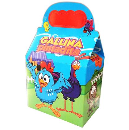 Caja gallinita c/10 pzas