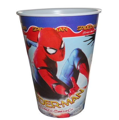 Vaso spiderman c/10 pzas