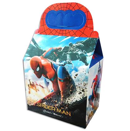 Caja spiderman c/10 pzas