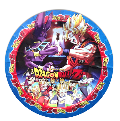 Plato Dragon ball c/10 pzas