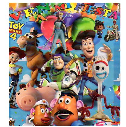 Invitacion Toy story c/10 pzas
