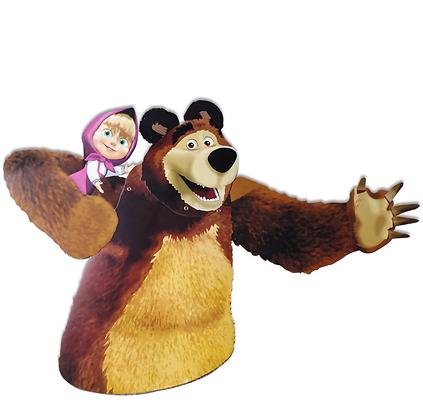 Adorno movil oso masha