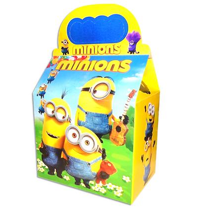 Caja minions c/10 pzas