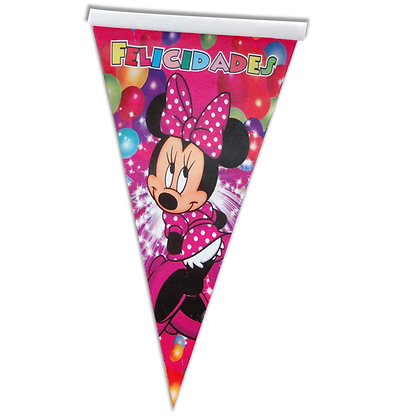 Banderin minnie mousse